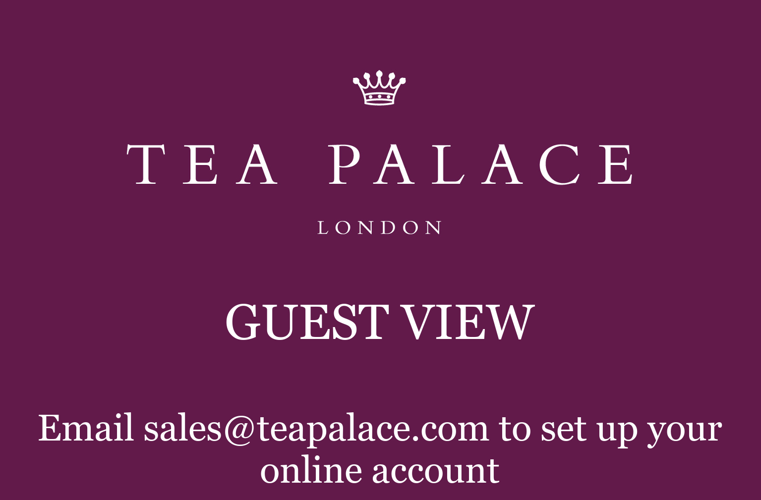 Tea Palace Wholesale Logo